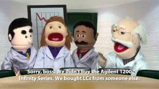 Agilent Puppet Chemistry: Marketing life sciences with micro sites
