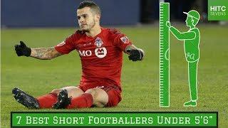 "7 Best Short Footballers Under 5'6"""