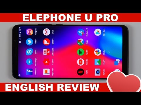 Elephone U Pro Review: We're getting there! (English)