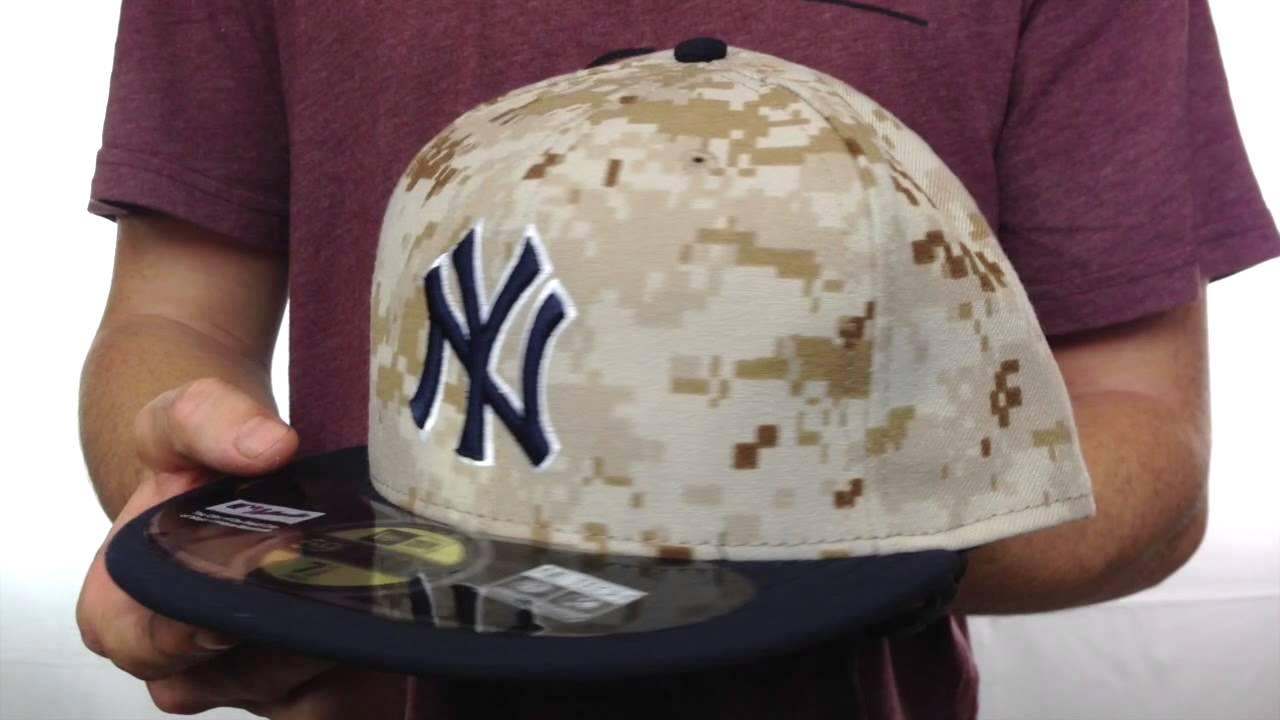 f41ca060b81 Yankees  2014 STARS N STRIPES  Fitted Hat by New Era - YouTube