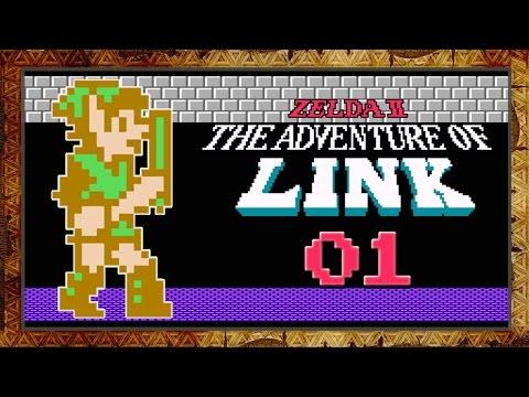 Let's Play Zelda 2: The Adventure of Link [Blind] - #1 - I am Error