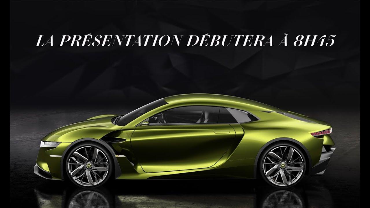 DS Automobiles – Conférence de presse GIMS  YouTube