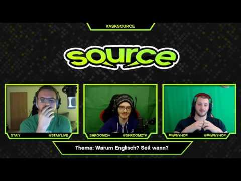 AskSource #2 - Deutsche Streamer mit englischen Content