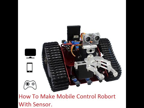 How to Make Mobile Control  Robort at Home Easy - Remote Controlled Robort@