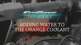 Adding Water To Ecosport S Coolant