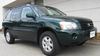 2003 Toyota Highlander Start Up, Engine & Review