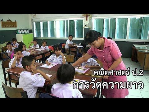 คณิตศาสตร์ ป.2 การวัดความยาว ครูกุสุมา  บุญทะโชติ