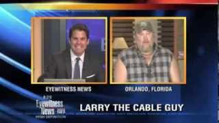 Larry the Cable Guy talks about the origin of his famous nickname