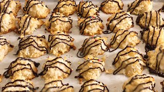 3 Ingredients Coconut Macaroons! I EstherDees Kitchen