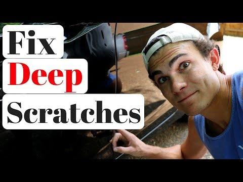 Car Scratch Repair: Wet Sanding Deep Scratches... it's complicated!