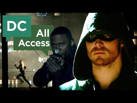 Arrow EXCLUSIVE Clip + Behind-the-Scenes...