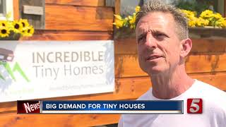 Big Demand For Tiny Houses At Tennessee Tiny Living Festival