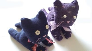How To Make A Cute Sock Cat - Diy Crafts Tutorial - Guidecentral