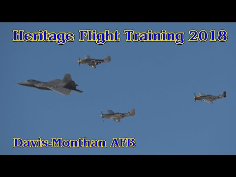 Heritage Flight Training and Certification Course 2018 -- Davis-Monthan AFB, Tucson, Arizona