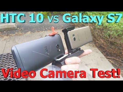 HTC 10 Vs Galaxy S7 Video Camera Test - Best Camera For Vlogging?
