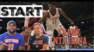 Why Frank Ntilikina MUST start this season