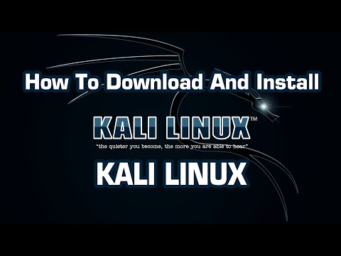 How To Download And Install Kali Linux
