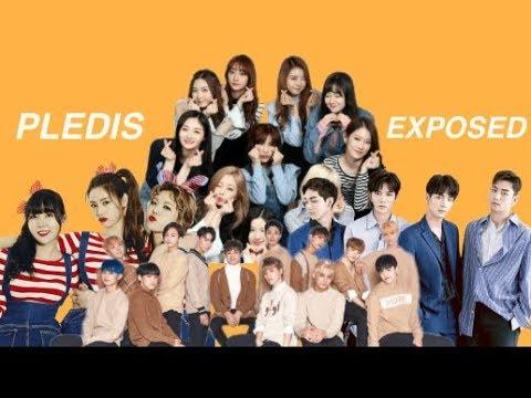 pledis entertainment EXPOSED