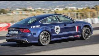 900 HP Audi RS7 on Unlim 500+ Greece