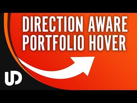 Direction #jQuery Portfolio Effekt? Deutlich weniger Arbeit als man denkt! | #Tutorial #Webdesign