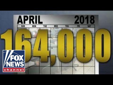 President Trump touts new job numbers