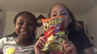 The hot Cheetos challenge ( gone wrong)!