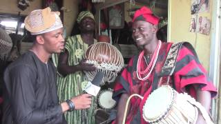 """WOW! The """"Talking Drums"""" of Nigeria !!"""