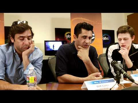 """The Men of """"Missing"""" (part 2) - Adriano Giannini, Cliff Curtis, Nick Eversman"""