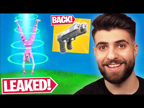 Everything Epic DIDN'T Tell You In the FINAL Update! (Leaked Aliens, Dualies + MORE!) - Fortnite
