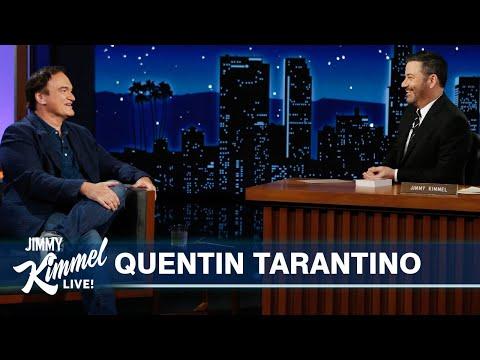 Tarantino shows off his Hebrew skills to Kimmel