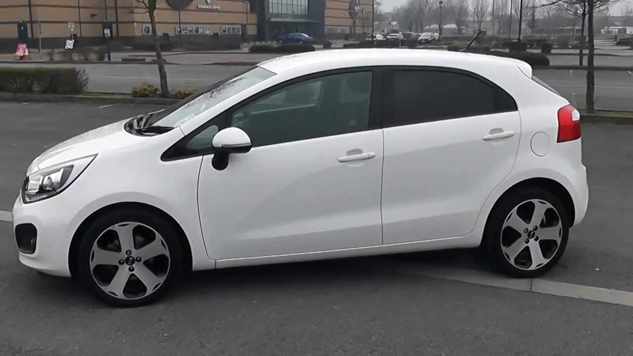 kia rio 2014 hatchback white images galleries with a bite. Black Bedroom Furniture Sets. Home Design Ideas