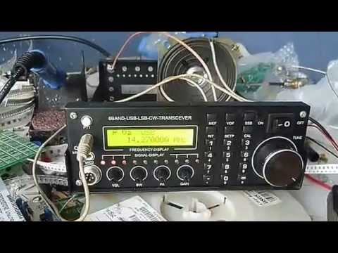 6 Band Hf Ssb Radio Transceiver Diy Kits Youtube