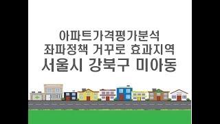 [아파트가격 평가분석] 좌파정책 거꾸로 효과지역 - 서…