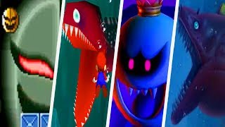 Evolution of Scary Enemies in Super Mario Games (1988 - 2017)
