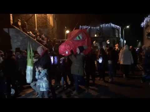 Llantwit Major Christmas Lantern Parade, November 26 2016