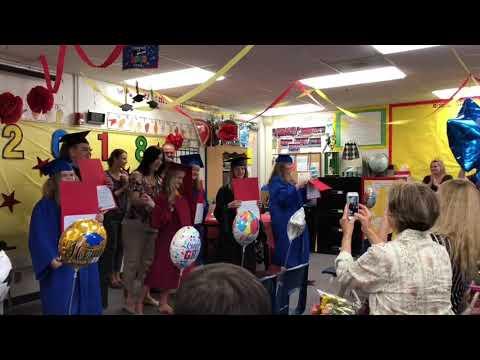 Kaden graduates Marco Forster middle school