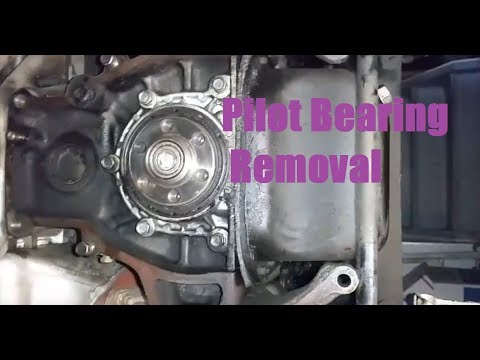 How To Remove Pilot Bearings Without a Bearing Puller