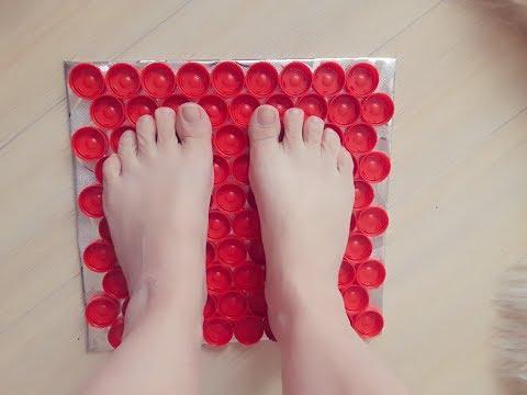 Как сделать коврик для массажа