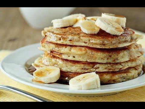 recette-facile-de-pancakes-à-la-banane-et-aux-flocons-d'avoine