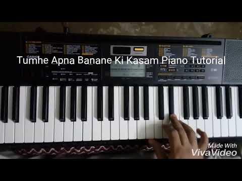 Tumhe Apna Banane Ki Kasam Khayi Hai (Sadak) Piano Tutorial