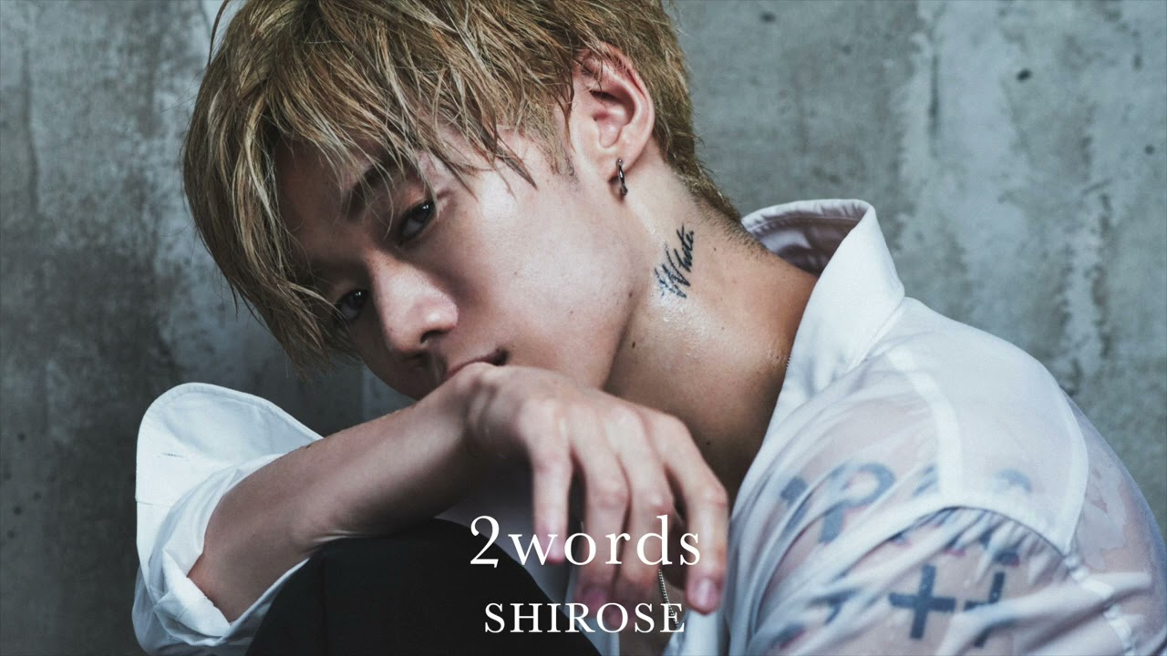 "SHIROSE(WHITE JAM) – 2words ""DEEP SQUAD Self cover"""