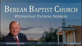 "03/24/21 - Wednesday Evening, ""Lessons From the Life of Paul"", By: Dr. Ron Baity, (Acts18:18-23)."