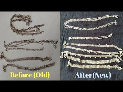 ಈ ರೀತಿ ಬೆಳ್ಳಿ ವಸ್ತುಗಳನ್ನು ಹೊಸದಾಗಿ ಹೊಳೆಯುವಂತೆ ಮಾಡಿ | how to clean silver items at home in Kannada