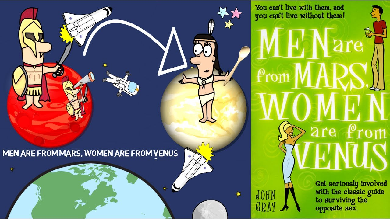 Men Are From Mars Women Are From Venus by John Gray ...