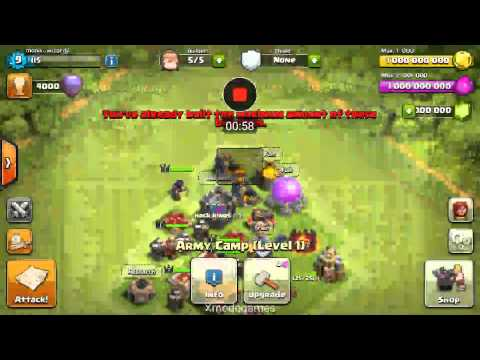 Clash Of Clans Real Hack :)