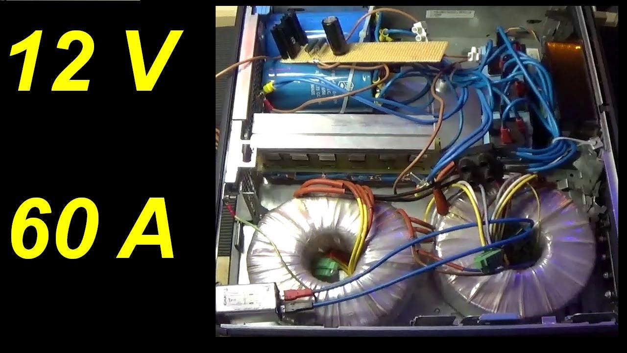 Pieraisa 282 alimentatore lineare 12v 60 ampere for Costruire un temporizzatore 12v