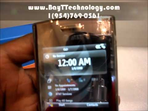 Unboxing Unlocked Samsung Propel Pro SGH-I627 - Installing Battery and Sim Card