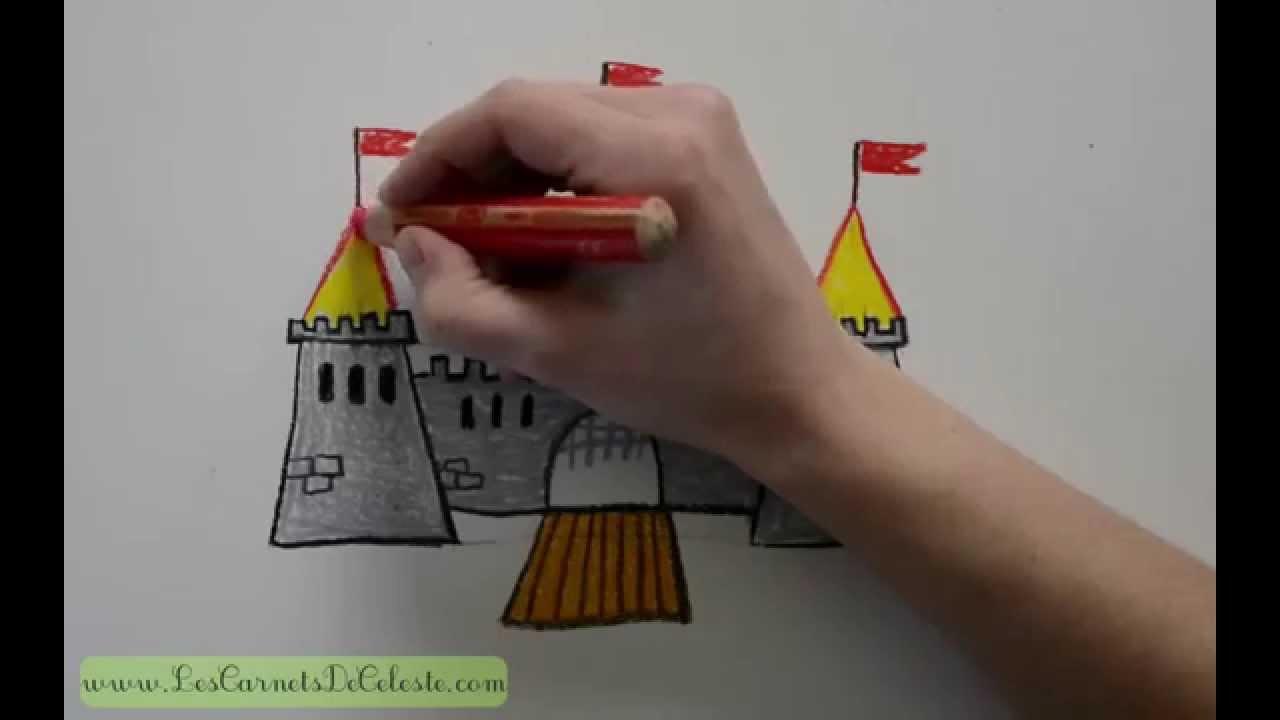 Comment Dessiner Un Château Fort
