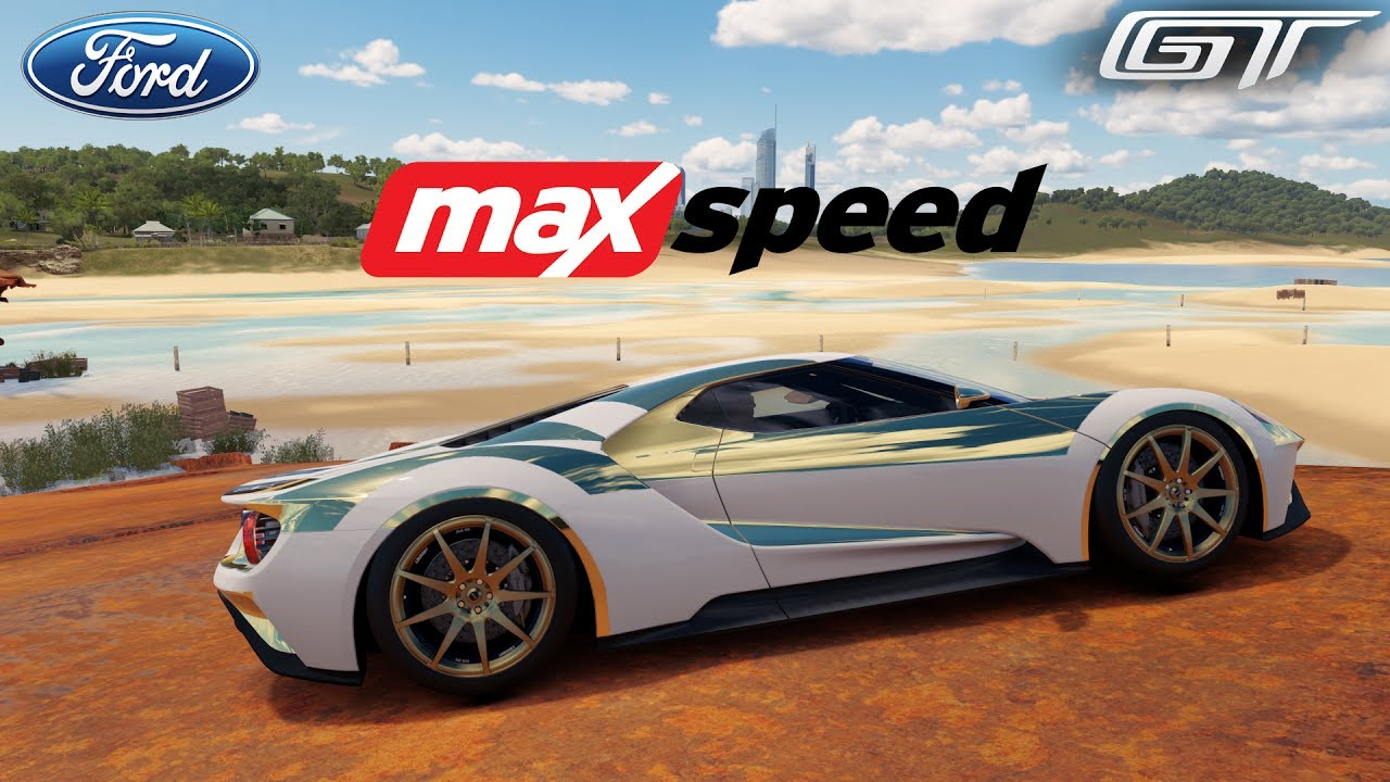 Forza Horizon   Ford Gt Max Speed Gameplay Hd P