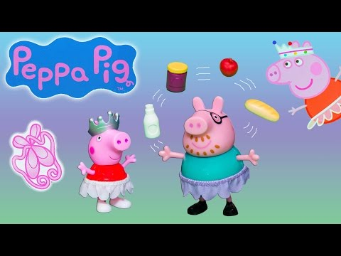 Unboxing the Peppa Pig's Ballet and Dance Bag Toys